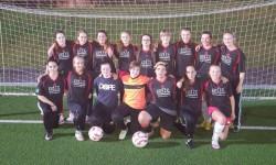 B Juniorinnen: nach 9:1 im Regionalpokalfinale