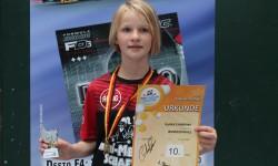 Luisa Laukner hervorragender 10.Platz