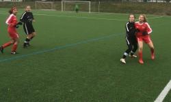 B Juniorinnen: klasse Fußballspiel