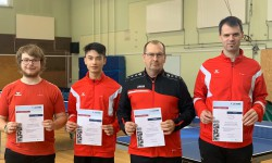 5 neue Kindertrainer in der Tischtennisabeilung